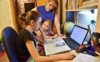 Дистанционка. Более половины родителей рассказали об отставании школьников от программы