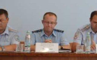 На совещании в полиции говорили о недостатках в работе