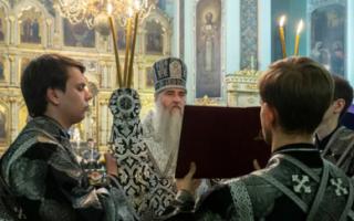 Митрополит Лонгин возмутился запретом посещать храмы и заговорил о гражданском неповиновении