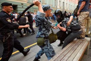 Росгвардия готовится к народным протестам
