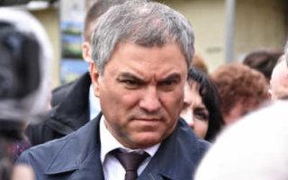 Саратовские власти подставили В. Володина
