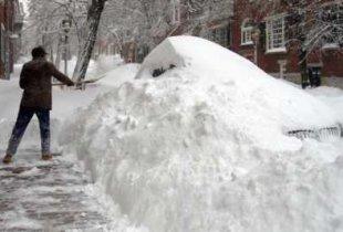 В воскресенье начнется сильный снегопад
