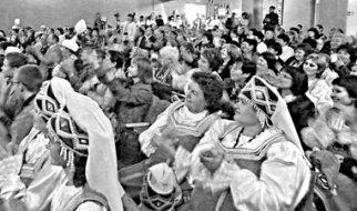 Яркий концерт разных народов