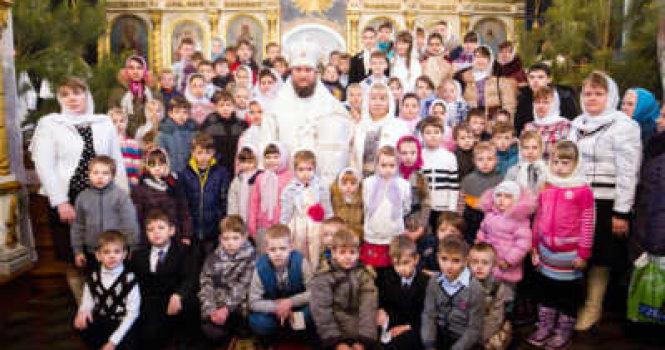 Прием детей в воскресную школу