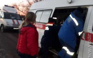Под Пугачевом перевернулся автомобиль