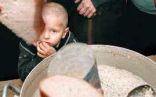 Число недоедающих саратовцев выросло на 10 %