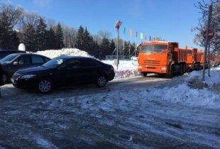 Автомобиль областного чиновника сорвал финал мероприятия