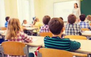 Общеобразовательная Кин-дза-дза. Школы дифференцировали по цвету