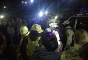 Ночью саратовцы пытались линчевать предполагаемого убийцу 9-летней девочки