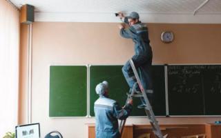 В российских школах установят системы видеонаблюдения с функцией распознавания лиц