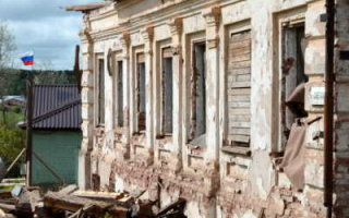 В регионе разрушились более 10 тысяч домов