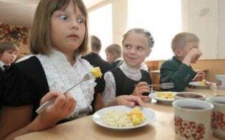 Детям запретят приносить в школу еду из дома