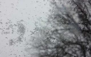 В области ожидается дождь со снегом