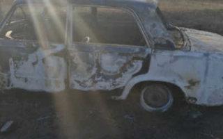 Житель Пугачевского района не смог угнать и сжег автомобиль
