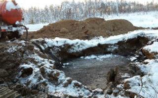 В Пугачевском районе произошла утечка топлива из нефтепровода