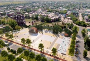 Проект благоустройства Соборной площади и берега Иргиза. Презентация 18 декабря