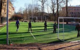 В Балаково вернули школьное футбольное поле