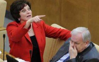 """""""Небожена"""": В любой нормальной стране сенатора Е. Лахову выгнали бы с позором"""