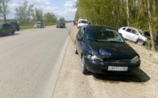 В массовой аварии под Пугачевом пострадал ребенок