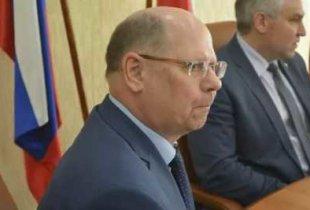 Спикер облдумы И. Кузьмин потерялся на партконференции