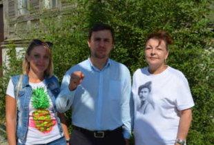 Депутат облдумы Н. Бондаренко посетил Пугачев