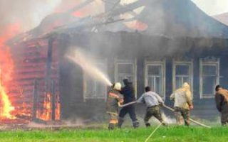 На пожаре в Жестянке погиб мужчина