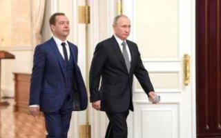 Президент повысил зарплату себе и Медведеву