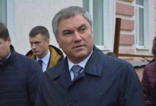 В. Володин инициировал прокурорскую проверку в отношении областного министра