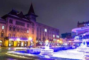 Сказочная погода в новогоднюю ночь