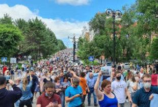 """Многотысячный митинг в Хабаровске или как Москва """"революцию"""" проспала"""