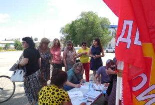 За день пугачевцы собрали около двух тысяч подписей против повышения пенсионного возраста