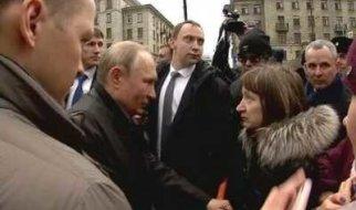 """В. Путин: """"Наэти деньги невозможно прожить. Государство делает все, что оно всостоянии"""""""