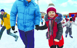 Зимние забавы для детей и взрослых