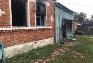 На пожаре в Клинцовке погибла женщина