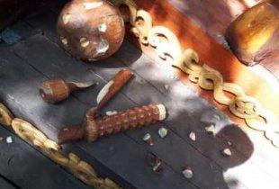 В пугачевском городском парке вандалы изуродовали скульптуры