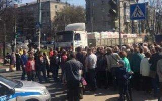 Жители Нижнего Новгорода перекрыли дорогу в знак протеста против платежек за отопление