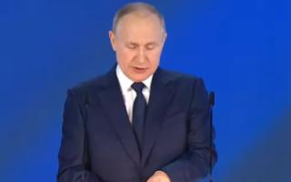 Путин анонсировал единовременное пособие на детей в размере 10 тысяч рублей
