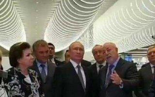 Самолет В. Путина приземлился в Саратове