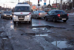 В рейтинге качества дорог Россия обошла Мозамбик и Конго
