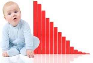 В Саратовской области стало меньше  рождаться детей