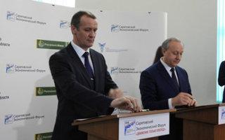 Радаев подписал с Грудининым соглашение о намерениях