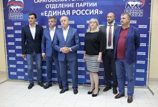 Премьер похвалил жителей Саратовской области