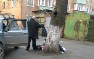 Двойной штраф за выброс мусора в неположенном месте