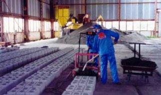 В области почти вполовину сократилось производство блоков, бетона и стекла