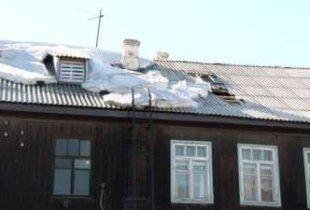 В Пугачеве в жилом доме обрушилась кровля