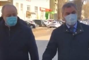 """В. Володин потребовал от Радаева и Мазиной поднять зарплату водителям """"скорой помощи"""" (видео)"""