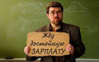 60% учителей в России не устраивает зарплата