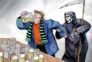 Количество смертей от отравления алкоголем выросло в области на 90%