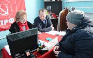 Ольга Алимова посетила Пугачевский район