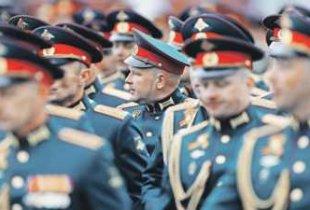 Офицеры получат новую парадную форму
